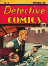 Cover for Detective Comics (DC, 1937 series) #9