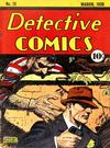 Cover for Detective Comics (DC, 1937 series) #13