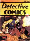 Cover for Detective Comics (DC, 1937 series) #14