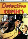 Cover for Detective Comics (DC, 1937 series) #15
