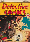Cover for Detective Comics (DC, 1937 series) #17