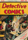 Cover for Detective Comics (DC, 1937 series) #18