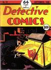 Cover for Detective Comics (DC, 1937 series) #19
