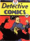 Cover for Detective Comics (DC, 1937 series) #20