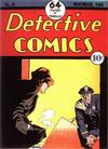 Cover for Detective Comics (DC, 1937 series) #21