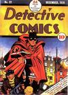 Cover for Detective Comics (DC, 1937 series) #22