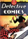 Cover for Detective Comics (DC, 1937 series) #23
