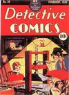 Cover for Detective Comics (DC, 1937 series) #24
