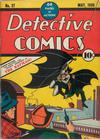 Cover for Detective Comics (DC, 1937 series) #27