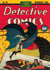 Cover for Detective Comics (DC, 1937 series) #33