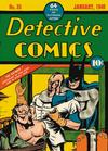 Cover for Detective Comics (DC, 1937 series) #35