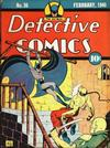 Cover for Detective Comics (DC, 1937 series) #36