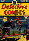 Cover for Detective Comics (DC, 1937 series) #37
