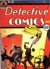 Cover for Detective Comics (DC, 1937 series) #39