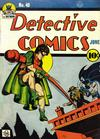 Cover for Detective Comics (DC, 1937 series) #40