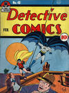 Cover for Detective Comics (DC, 1937 series) #48