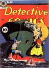 Cover for Detective Comics (DC, 1937 series) #58
