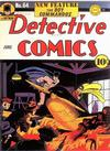 Cover for Detective Comics (DC, 1937 series) #64