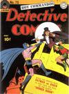 Cover for Detective Comics (DC, 1937 series) #75
