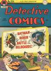 Cover for Detective Comics (DC, 1937 series) #104