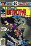 Cover for Detective Comics (DC, 1937 series) #460
