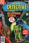 Cover for Detective Comics (DC, 1937 series) #478