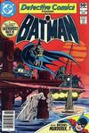 Cover Thumbnail for Detective Comics (1937 series) #498 [Newsstand]