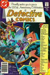 Cover for Detective Comics (DC, 1937 series) #500 [Newsstand Edition]