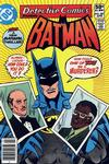 Cover for Detective Comics (DC, 1937 series) #501 [Newsstand Edition]