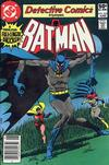 Cover Thumbnail for Detective Comics (1937 series) #503 [Newsstand]