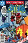 Cover Thumbnail for Detective Comics (1937 series) #504 [Newsstand]