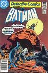 Cover for Detective Comics (DC, 1937 series) #508 [Newsstand Edition]