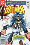Cover for Detective Comics (DC, 1937 series) #514 [Newsstand]