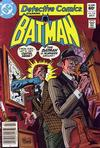 Cover for Detective Comics (DC, 1937 series) #516 [Newsstand Edition]