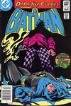 Cover Thumbnail for Detective Comics (1937 series) #524 [Newsstand]