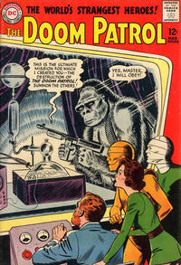 Cover Thumbnail for The Doom Patrol (DC, 1964 series) #86