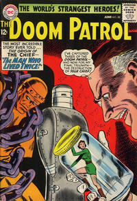 Cover Thumbnail for The Doom Patrol (DC, 1964 series) #88
