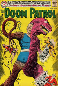 Cover Thumbnail for The Doom Patrol (DC, 1964 series) #89