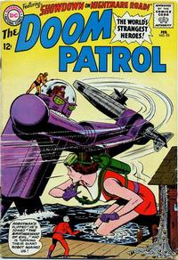 Cover Thumbnail for The Doom Patrol (DC, 1964 series) #93