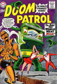 Cover Thumbnail for The Doom Patrol (DC, 1964 series) #96