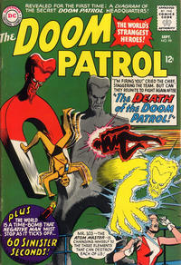 Cover Thumbnail for The Doom Patrol (DC, 1964 series) #98