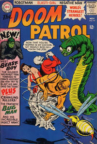 Cover Thumbnail for The Doom Patrol (DC, 1964 series) #99