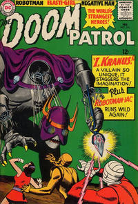 Cover Thumbnail for The Doom Patrol (DC, 1964 series) #101