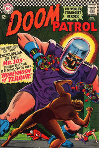 Cover Thumbnail for The Doom Patrol (DC, 1964 series) #105