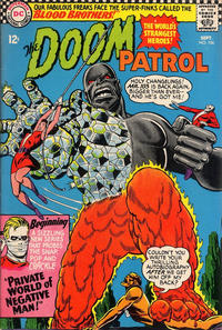 Cover Thumbnail for The Doom Patrol (DC, 1964 series) #106