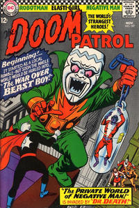 Cover for The Doom Patrol (DC, 1964 series) #107
