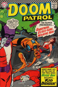 Cover Thumbnail for The Doom Patrol (DC, 1964 series) #108