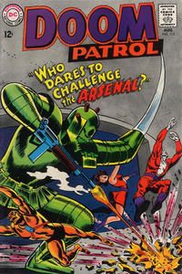 Cover for The Doom Patrol (DC, 1964 series) #113