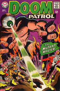Cover Thumbnail for The Doom Patrol (DC, 1964 series) #115