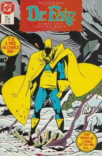 Cover Thumbnail for Dr. Fate (DC, 1987 series) #1